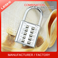 China Factory Price Security 10 Digits Push Button Door Lock