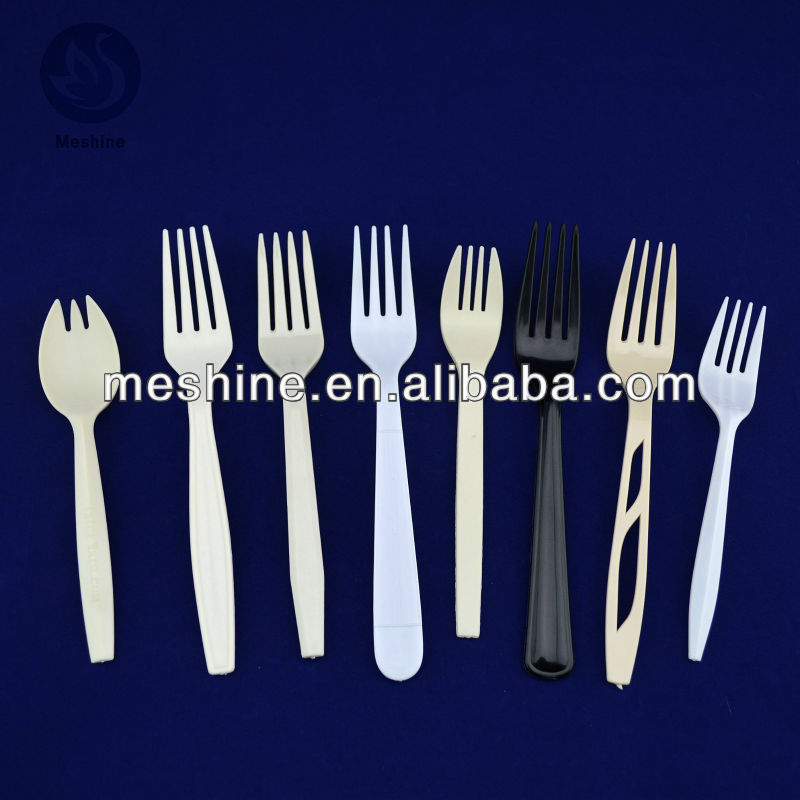 2014 customized plastic forks wholesale