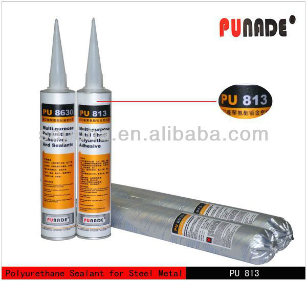 White glue for metal sealing/polyurethane adhesive/quartz stainless steel back sealant