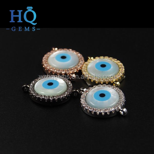 beaded evil eye for charm bracelet fashion women bracelet jewelry