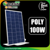 Bluesun solar high quality and best price 25 years warrantly 12v 100w solar panel