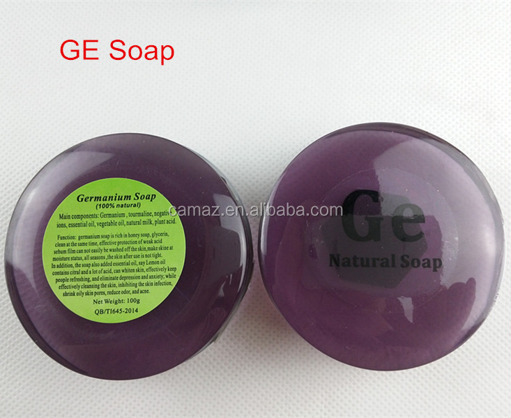 Nano-Tech Negative Ions Handmade Soap With Vacuum Plastic Box Package