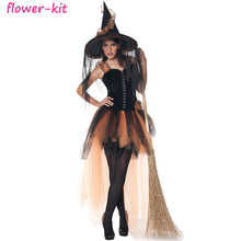 New Adult Witch Costumes Sexy Halloween Carnival Cosplay Costumes