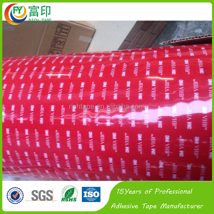 Waterproof strong adhesion performance 3M5925 acrylic tape for industry tape using