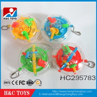 Wholesale promotional 32 steps baby game maze 3d intelligence ball maze game HC295783