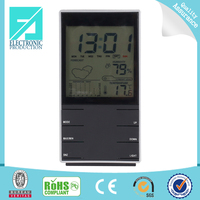 Fupu Digital Weather Station Color Screen Calendar Clock with Digital LCD Display