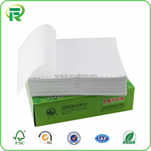 2017 popular white carbonless copy paper in China factory