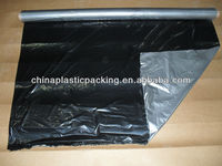 Agriculture PE black silver agriculture mulch film with free hole