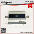 Hot sale Mini GSM 900mhz signal booster mobile signal repeater with LCD