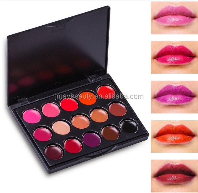 Private Logo Long-lasting Waterproof Lipstick Palette