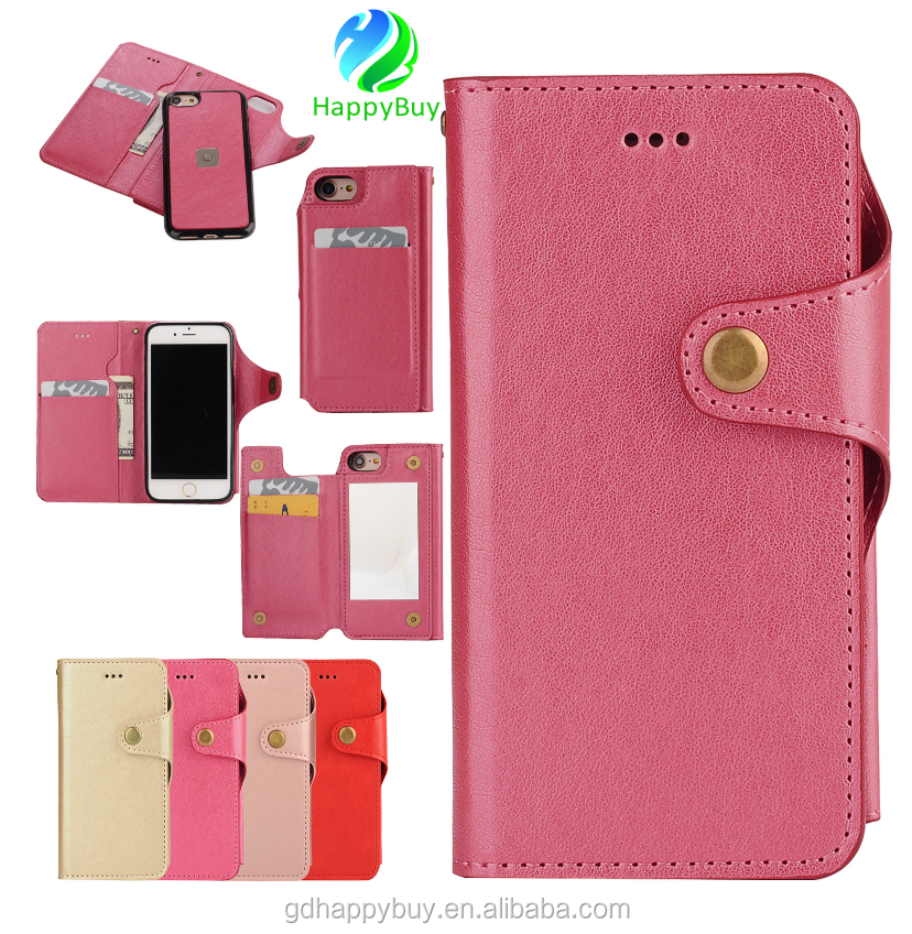 new design pu leather phone case cover for iphone 7 wallet case for iphone 6 6s 6 plus 7 plus