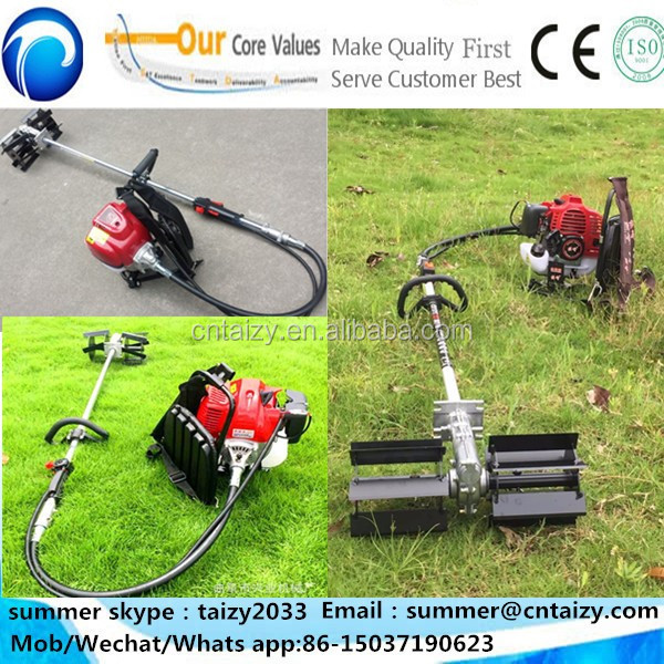maize weeding machine hand held portable weeding machine mini power weeder/weed extractor