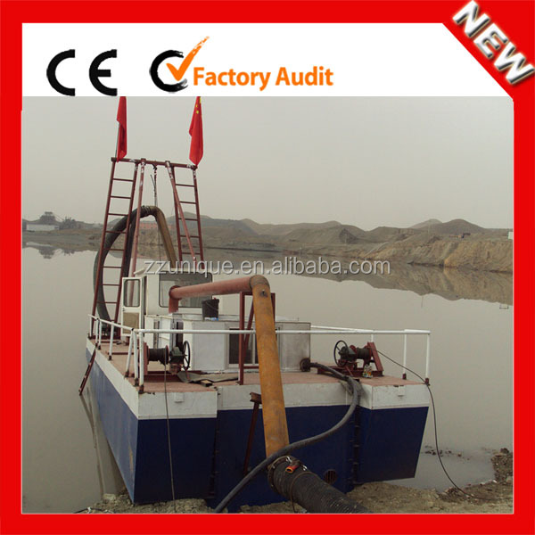 China Professional Hot Sold Gold Mining Dredge for Sale
