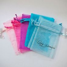 drawstring pouch drawsting silk organza bags small organza gift bag