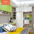 China supplier cheap latest design used hotel furniture modern wooden bedroom almirah