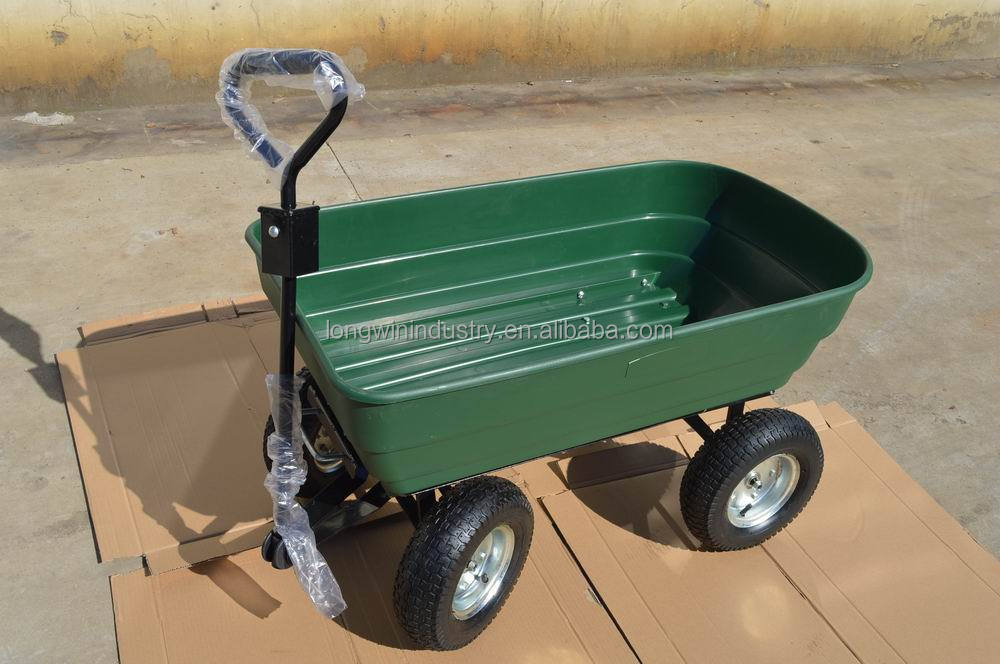 Four wheels farm tractor utility cart for lawn tractor