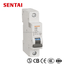 high quality brand the over-voltage protection circuit breaker c65 mcb dc miniature circuit breaker
