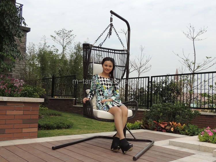 g nstige garten schaukel rattan geflochtenen terrasse h ngen egg chair buy product on. Black Bedroom Furniture Sets. Home Design Ideas