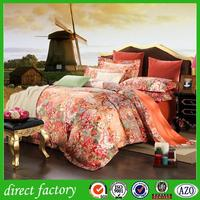 china supplier gold duvet cover with high quality