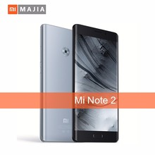 New arrival Mobile Phone Mi Note 2 6GB RAM 128GB ROM Snapdragon 821 2.35GHZ HD Audio