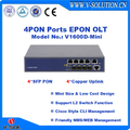 Low Cost 4 PON GEPON OLT Mini OLT with Friendly CLI/EMS/WEB Management