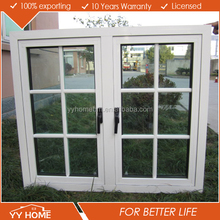 YY Home AS2047 certificated german style windows with exterior shades