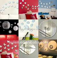High quality acrylic peel and stick mirror sheet