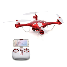 Hot Sell SYMA X5UW 2.4G 4CH 6 Axis Remote Drone 720P HD WiFi Camera Air Press Height RC Quadcopter