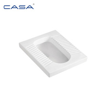cheap price sanitary ware squat toilet square squatting pan wc Pakistan market