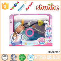12 inch Intelligent vinyl ABS baby toy doll