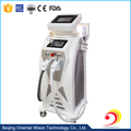 3 handles E-light(ipl+rf)+Bi-polar RF+YAG laser multifunctional instrument