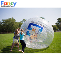 clear zorb ball,inflatable big beach ball,zorb ball for bowling