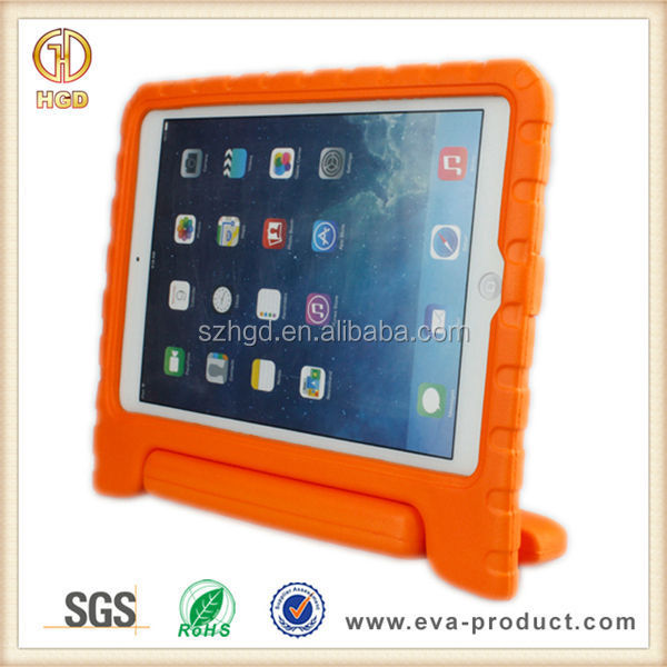 Kids unbreakable shockproof for eva ipad air 2 case with stand