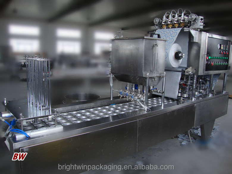 factory price automatic fruit jam/marmalade cup filling sealing machine