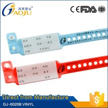 ISO CE FDA Certificate bottom price more colors for choice baby id bracelets