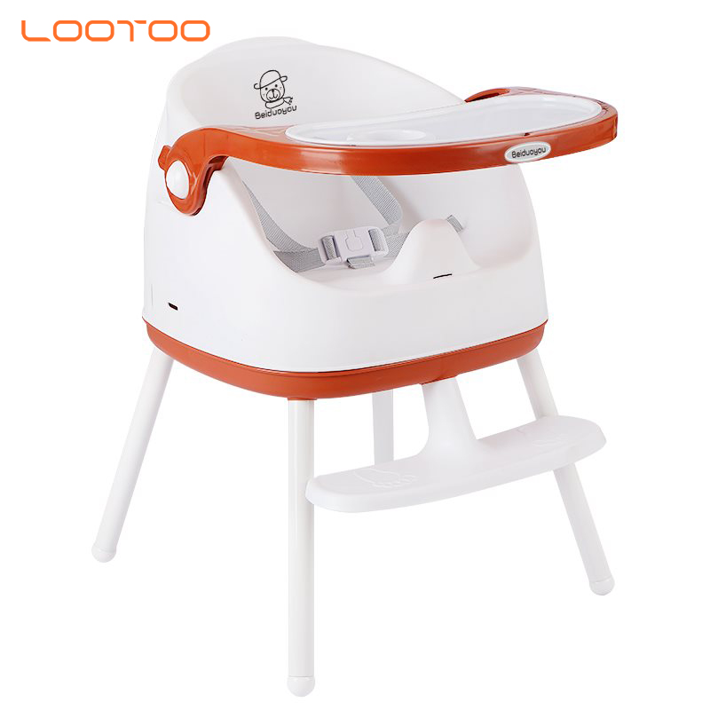 Travel outdoor folding portable feeding booster baby chair for infant eat dining with tray