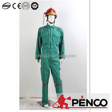 CE ISO OEM chemical and fire protective clothing HIGH QUALITY