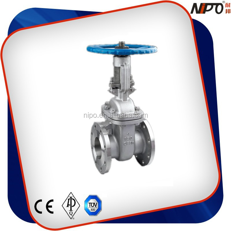 Stainless Steel/Stainless Steel 316 API Flanged Industrial Gate Valve