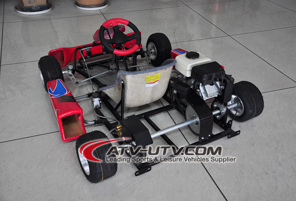 90cc 4 Stroke Dry Clutch Racing Go Kart / Buggy with CE