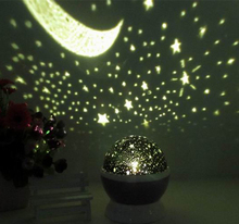 Led Falling star sky flash lids craft rotating indoor falling star projector light