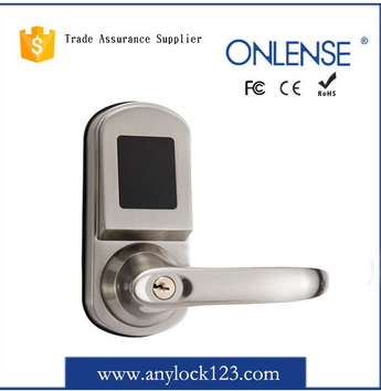 biometrical fingerprint lock safe Hotel lock with inductive card