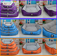 Custom Luxury Purple Memory Foam Pet Dog Non Slip Large Pet Bed