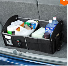 2015 Muiti Pockets Foldable Auto Car Trunk Organizer Case With Carry Handles For Family Travel