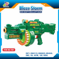 electronic abs plastic pellet airsoft sniper rifel pistol kids toy gun for sale/top soft bullet toy gun chenghai shatou