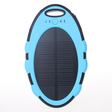 5000mAh Solar Charger Portable Power Bank Powerbank Bateria Externa Carregador Portatil Para Celular For Tablet/Laptop
