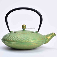 Japanese old-fashioned cast iron teapot