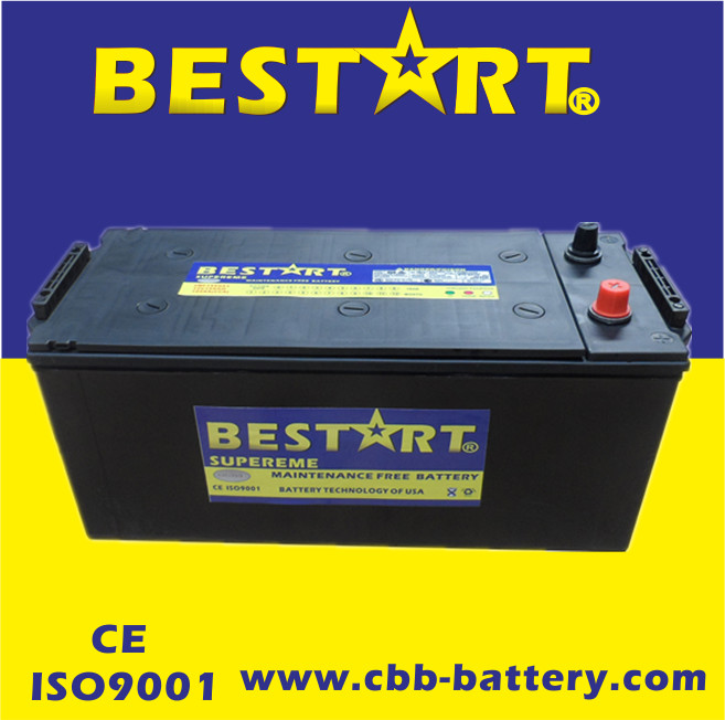 Fast delivery 2017 in stock N150MF dry maintenance free car battery for all automobiles