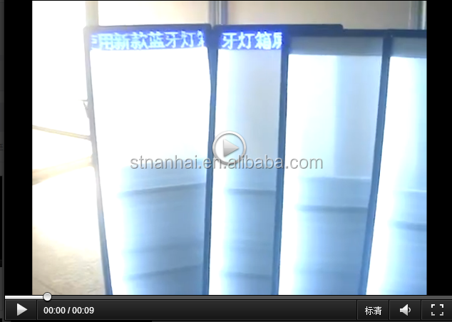 STNANHAI J1-0006 Outdoor advertising backpack illuminated led display productos innovadore para hacer publicidad
