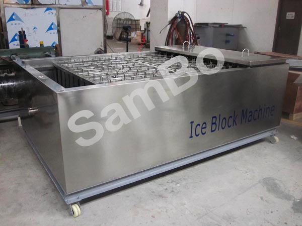 New Tech Direct Freezing Block Ice Machine With High Quality And Low Price