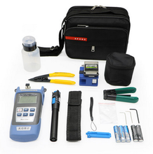 Hot selling Fiber Optical Splicing Tool Kits with slitter stripper and carrying case